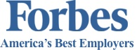 forbes america's best employers logo