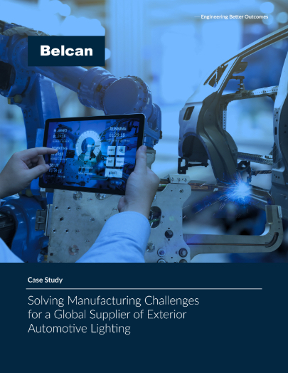 belcan Auto solving manufacturing challenges case study