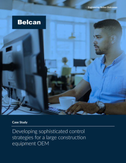 belcancontrol strategies for large construction equipment oem case study