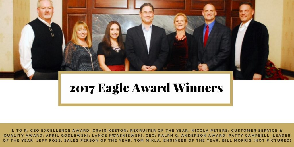 belcan 2017 eagle award winners