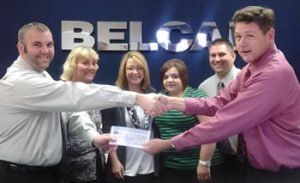 belcan team giving back
